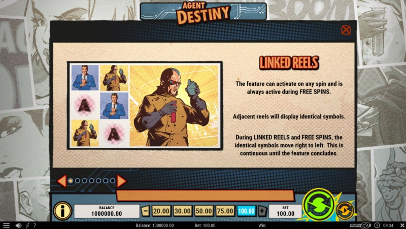 Agent Destiny :: Linked Reels