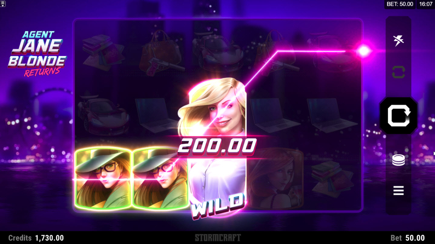 Play slots at Quatro: Quatro featuring the Video Slots Agent Jane Blonde Returns with a maximum payout of $120,000