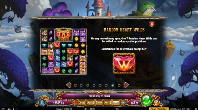 Agent of Hearts :: Random Heart Wilds