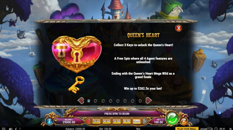 Agent of Hearts :: Collect 3 keys to start free games