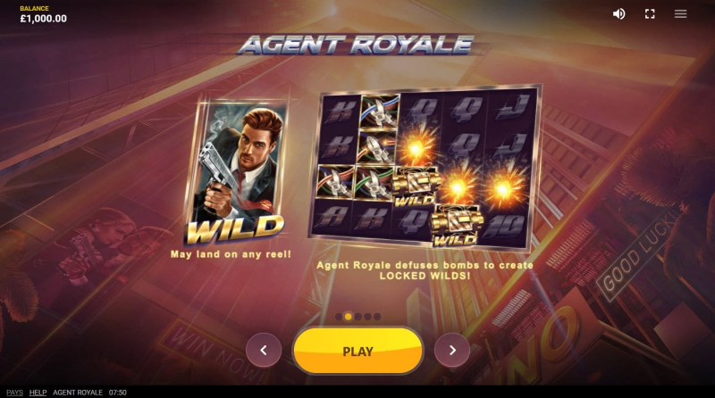 Agent Royale :: Wild Symbol Rules