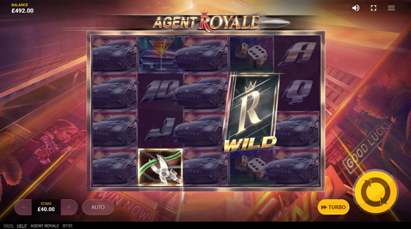 Agent Royale :: Wild feature activated