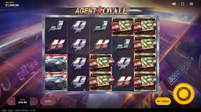 Agent Royale :: Main Game Board