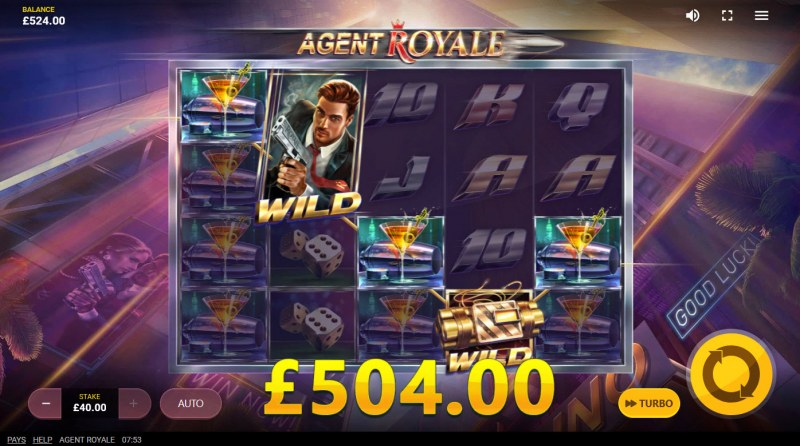 Agent Royale :: A five of a kind win