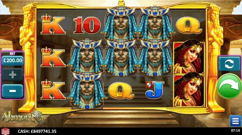 Ahmun Ra :: Base Game Screen