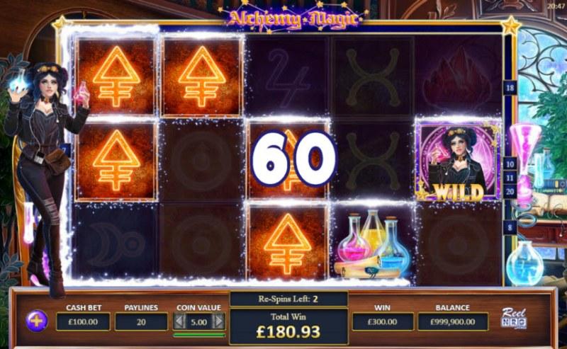 Alchemy Magic :: Multiple winning paylines