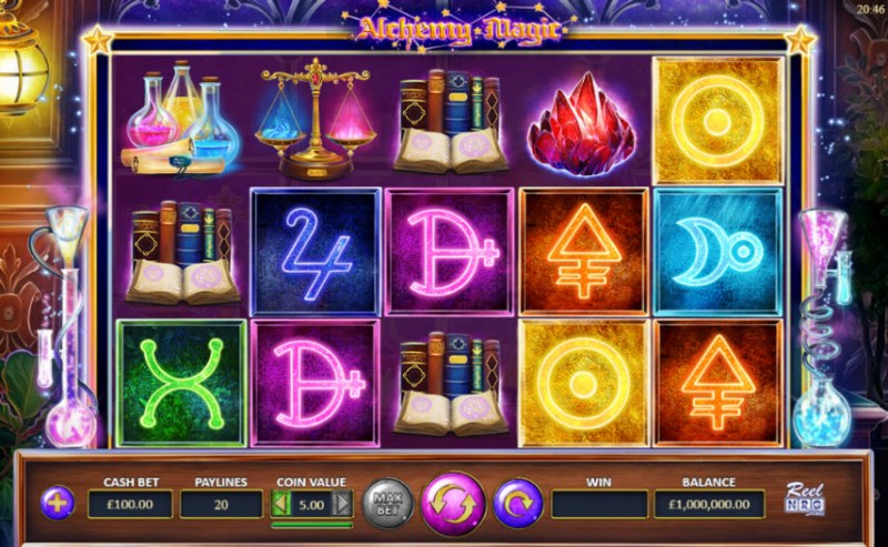 Alchemy Magic :: Main Game Board