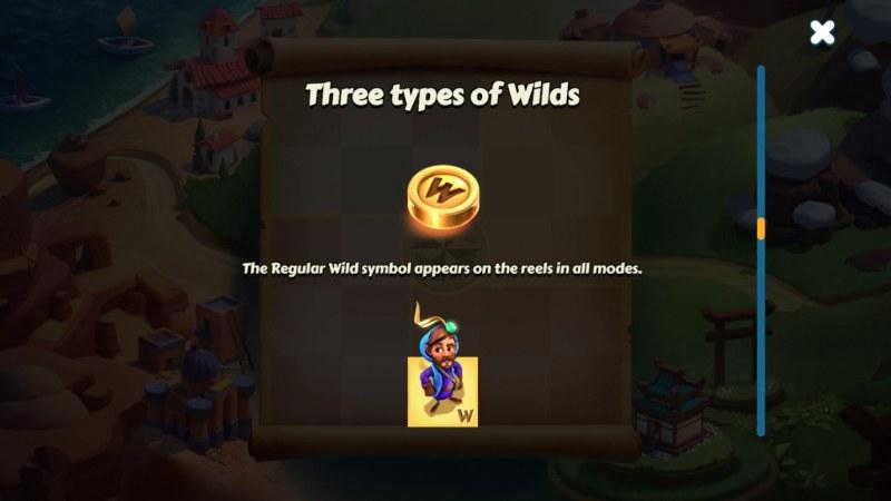 Aldo's Journey :: Wild Symbols Rules