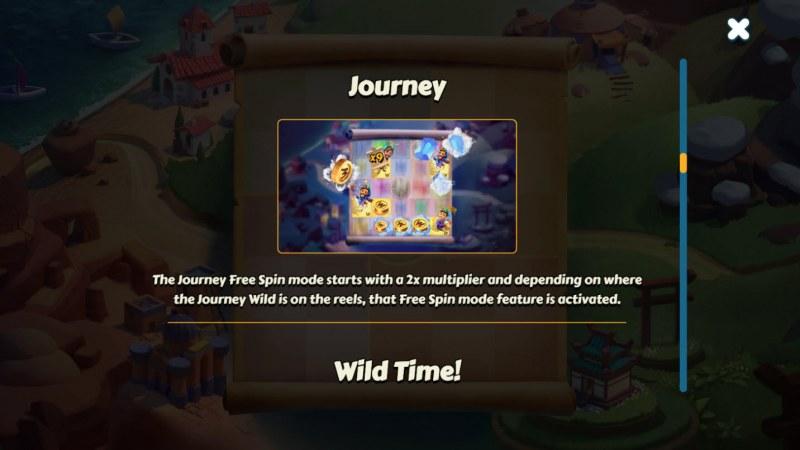 Aldo's Journey :: Feature Rules