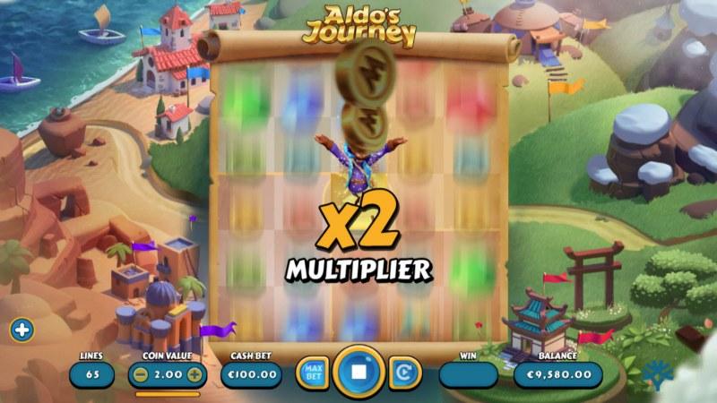Aldo's Journey :: X2 multiplier awarded