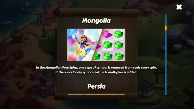 Aldo's Journey :: Mongolia Feature Rules