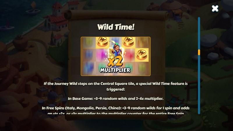 Aldo's Journey :: Wild Feature Rules