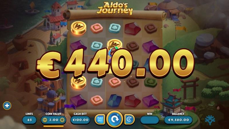 Aldo's Journey :: Multiple winning combinations