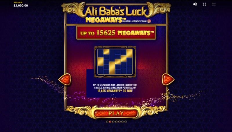Ali Baba's Luck Megaways :: Win over 20000x