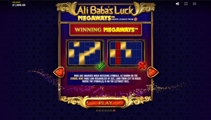 Ali Baba's Luck Megaways :: Up to 15625 Ways to Win