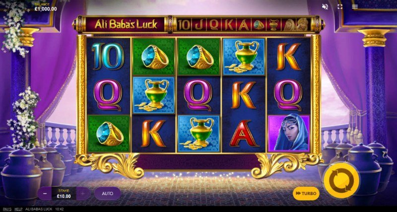 Ali Baba's Luck :: Main Game Board