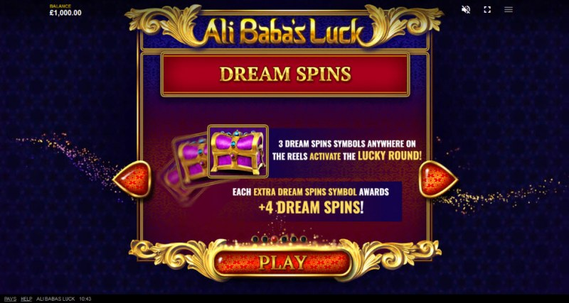 Ali Baba's Luck :: Dream Spins