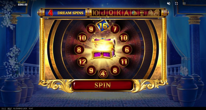 Ali Baba's Luck :: 20 Free Spins Awarded