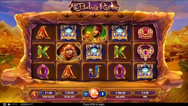 Ali Baba's Riches :: Main Game Board