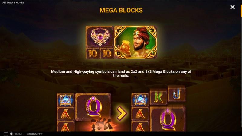 Ali Baba's Riches :: Mega Blocks