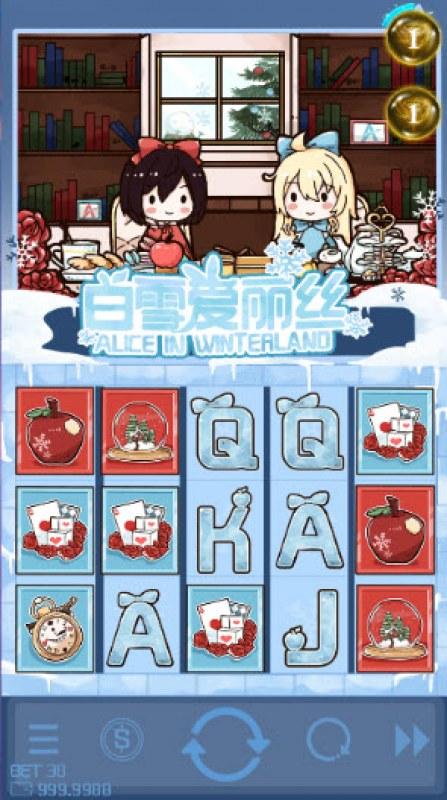 Alice in Winterland :: Main Game Board