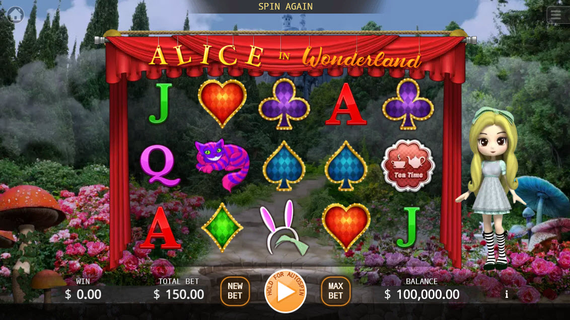 Alice in Wonderland :: Main Game Board