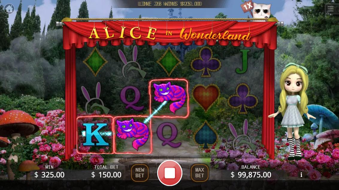 Alice in Wonderland :: Three of a kind