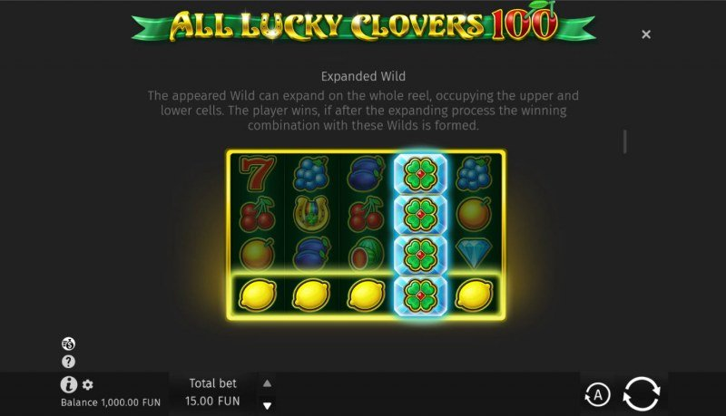 All Lucky Clovers :: Stacked Wild