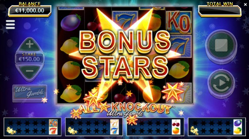 All Star Knockout Ultra Gamble :: Bonus stars added to the award boards