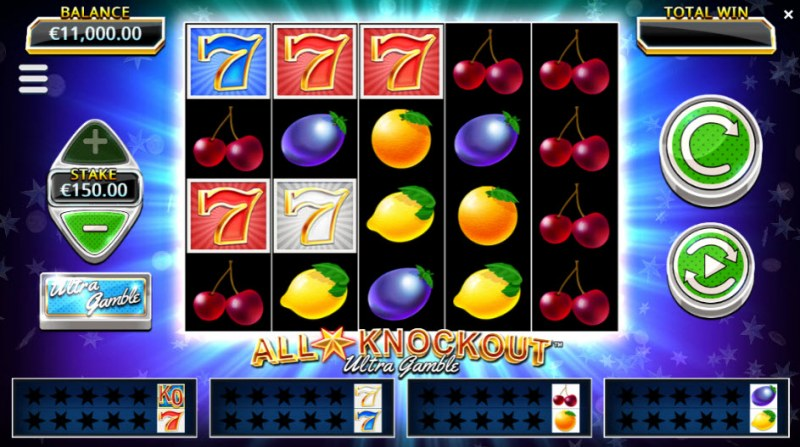 All Star Knockout Ultra Gamble :: Main Game Board