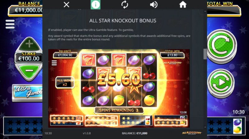 All Star Knockout :: All Star Knockout Bonus