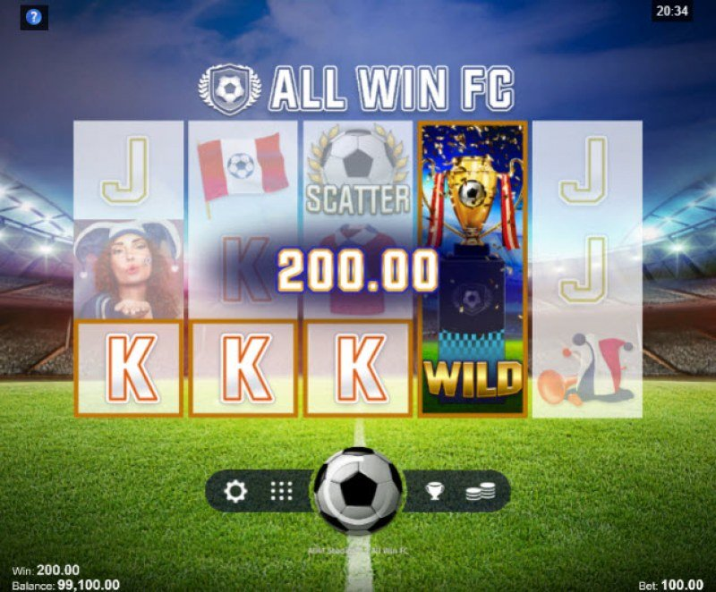 All Win FC :: Four of a kind Win