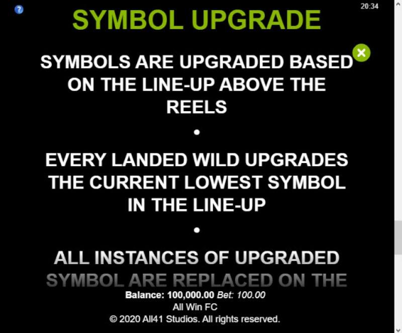 All Win FC :: Symbol Upgrade