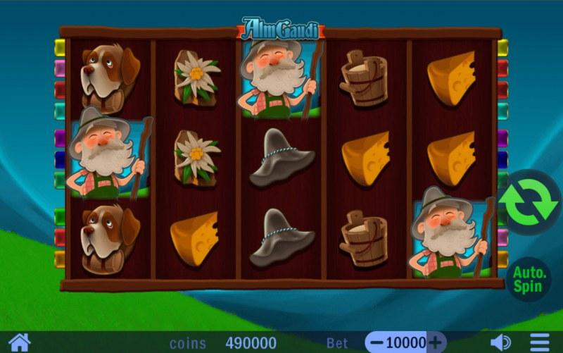 Alm Gaudi :: Base Game Screen