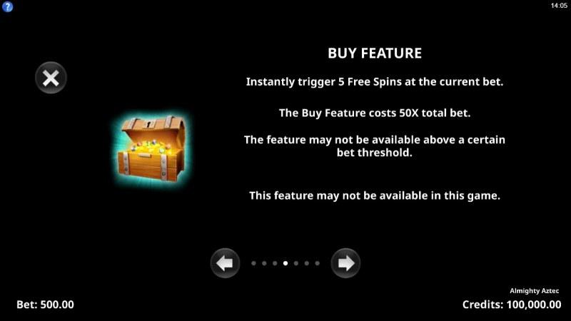 Almighty Aztec :: Buy Feature