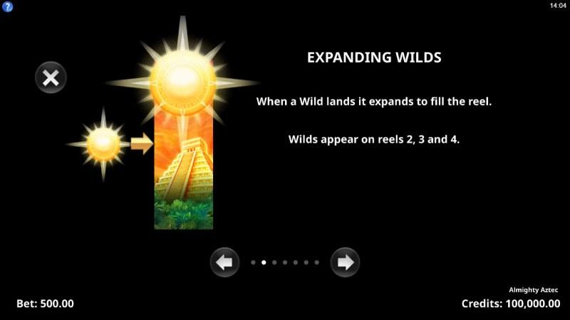 Almighty Aztec :: Expanding Wilds