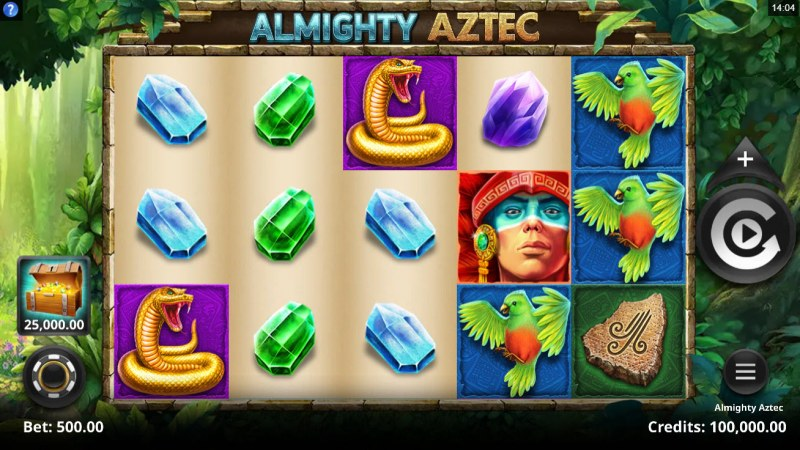 Almighty Aztec :: Main Game Board