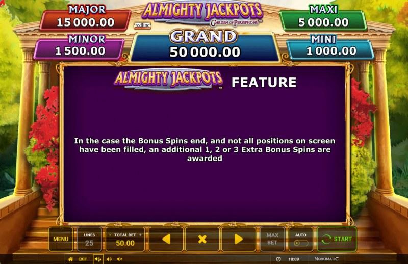 Almighty Jackpots Garden of Persephone ::