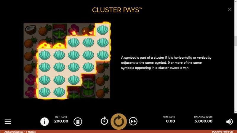 Aloha Christmas :: Cluster Pays