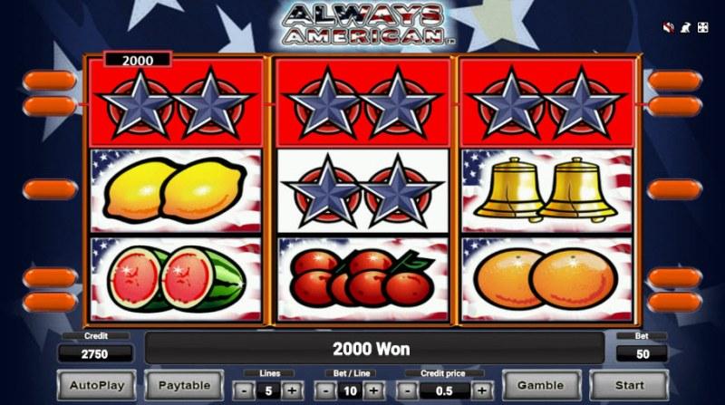 Always American :: Big Win