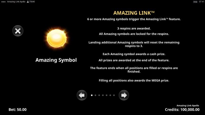 Amazing Link Apollo :: Amazing Link Feature