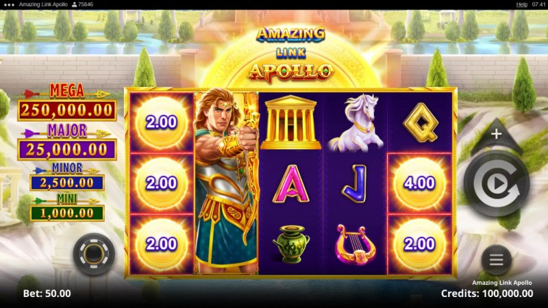 Amazing Link Apollo :: Base Game Screen