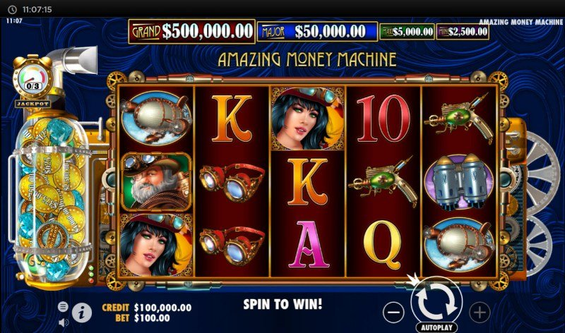 The Amazing Money Machine :: Main Game Board