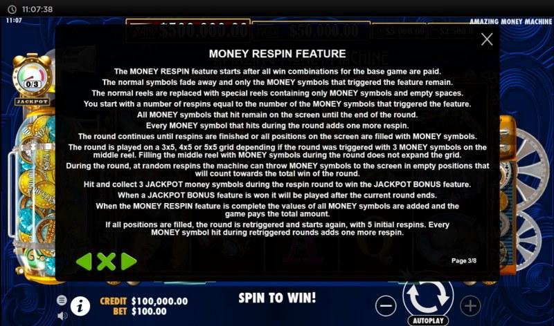 The Amazing Money Machine :: Money Repsin Feature