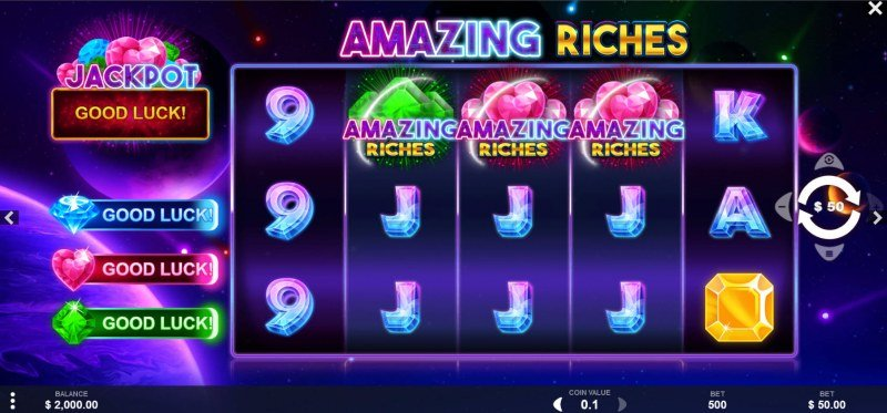 Amazing Riches :: Main Game Board