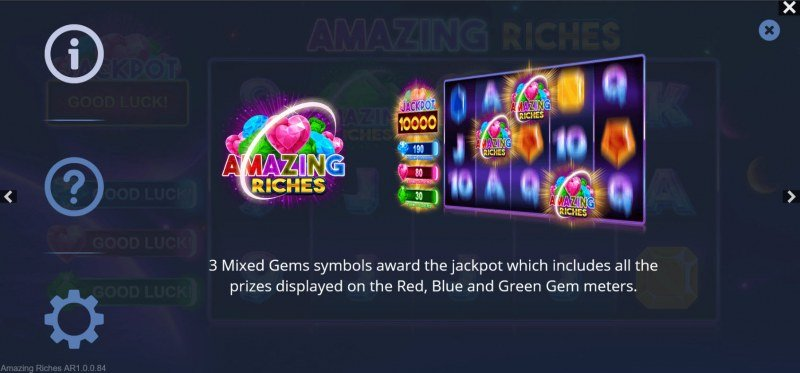 Amazing Riches :: Jackpot Rules
