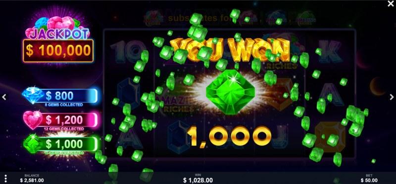 Amazing Riches :: Mini Jackpot Awarded
