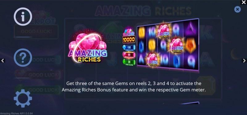 Amazing Riches :: Bonus Feature