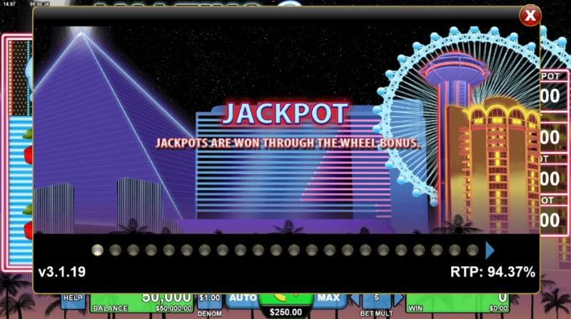 Amazing Ripley's Believe It or Not :: Jackpot Rules