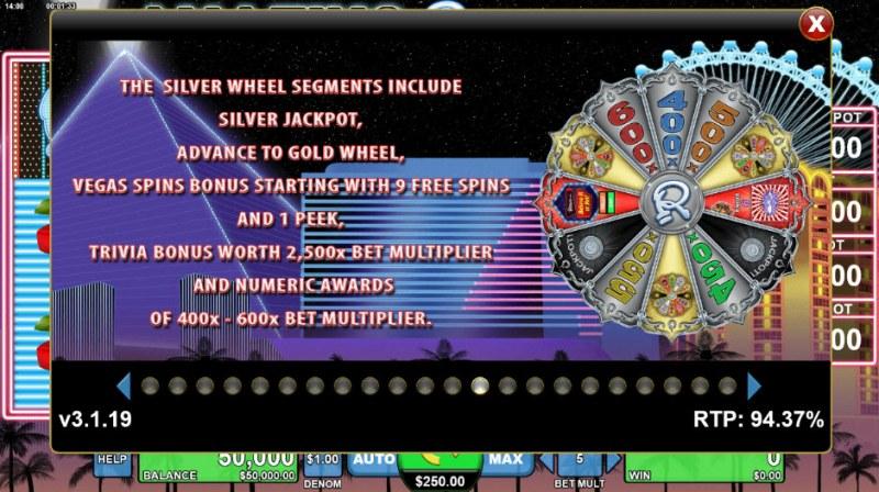 Amazing Ripley's Believe It or Not :: Silver Bonus Wheel